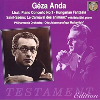 Liszt/Saint-Saëns: Works for Piano and Orchestra