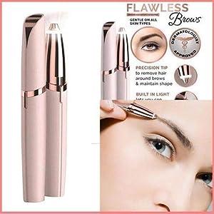 Elektrischer Augenbrauen-Haarentferner, Rasierer für Frauen, Augenbrauen-Haarschneider, Hautpflege-Werkzeuge, Augenbrauen-Entfernung, Schere für makellose Touch