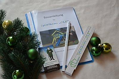 """Geschenkset mit Bauanleitung Spielhaus """"OLE"""", Bauplan Stelzenhaus von TF-Solutions bei Du und dein Garten"""