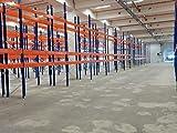 SLP B 14,1m H 2,74m Palettenregal Hochregal Schwerlastregal Regal Lager 3000 kg