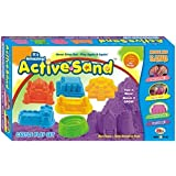 Castle Play Active Sand In A Beautiful Pack For Birhthday Gift Or Childs Activity