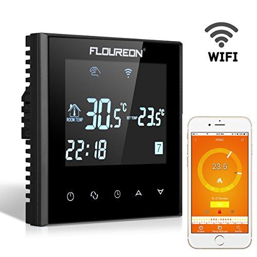 Thermostat Wifi Einstellbare Wöchentlich Temperatur Boiler Gas Touch Screen