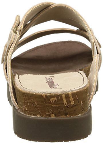 Caterpillar Joni, Mules Femme Blanc Cassé (Feather Grey)