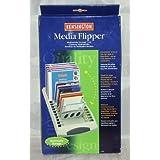 Kensington Media Flipper Stores 15 CDs, Zip Disks, Superdisks or 60 Diskettes