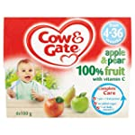 Cow and Gate Apple and Pear 4 Fruit P...