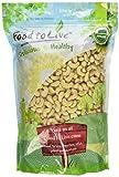Food to Live Integrali anacardi organiche (grezzo) 1.8 Kg