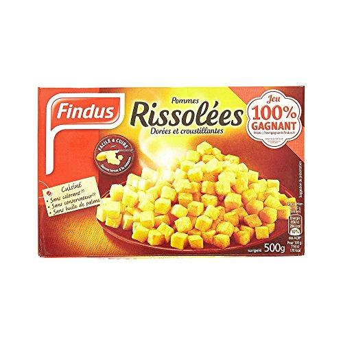 FINDUS - Pommes rissolées Findus - 500 g - Surgelé