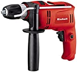 Einhell TC-ID 650 E Corded Impact Drill with Electronic Speed Control, 650 W - Red