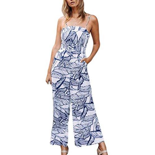 LeeY Damen Sexy Rundhals Drucken Sommerkleid Bohemian Mode Beiläufig Strandkleid Cocktailkleid Frauen Lose Kurzarm Reizvoller Ballkleid Partykleid Wickelkleid Unterröcke (Blau B, S(Asian S=EU XS))