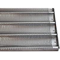 Baguette Chapa aluminio 78x 58cm, 8filas de