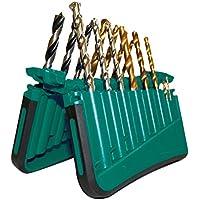 iWork BR717P - Estuche 17 brocas combinadas (21 x 20.8 x 2.4 cm) color verde