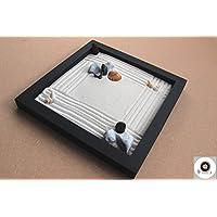 Zen garden da tavolo in legno per l'arredamento della casa ॐ