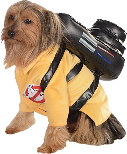 Pet Dog Kostüm, Ghostbusters–Kleine (Ghostbuster Slimer-kostüm)