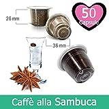 50 Capsulas Café Sabor Sambuca Compatibles Nespresso - Café Kickkick