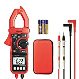 Digital Clamp Meter, Eventek ET820 Multimeter Auto Range Multi Tester with Backlight for Measuring AC Current, AC/DC Voltage, Resistance, Continuity, Diode