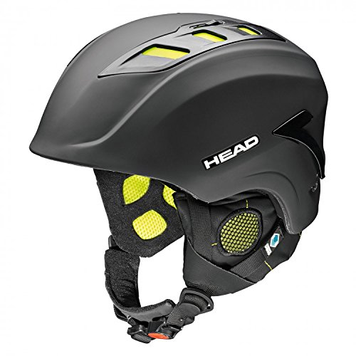 HEAD, Casco Uomo Sensor, Nero (Black), XS/S