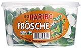 Haribo Frösche, Dose, 2er Pack (2 x 1050g)