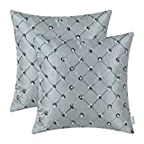 Best Pillowcase Modern Fantasy Sofas - CaliTime Pack of 2 Cushion Covers Throw Pillow Review