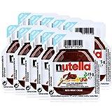 10x Ferrero Nutella Nuss-Nougat-Creme Brotaufstrich Portionspackung 15g