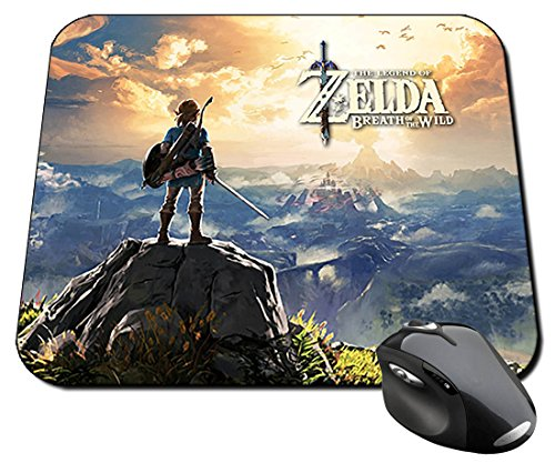 Preisvergleich Produktbild The Legend Of Zelda Breath Of The Wild Mauspad Mousepad PC