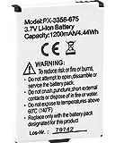 """'Simvalley Mobile anziani Notruf Cellulare: batteria di riserva da 1200mAh per Telefono di Emergenza """"XL 959(Senior Cellulare con tasto di emergenza)"""