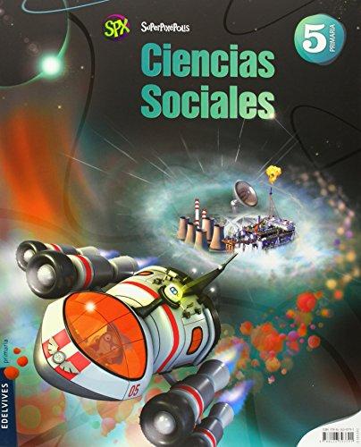 Ciencias Sociales 5º Primaria + Cóndor milenario (Superpixépolis) - 9788426393791 por Edelvives