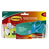 3M Command HOM-15 Caddy with Clear Strips - Large