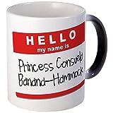 CafePress-Princesa Consuela banana-hammock-taza de café única ml, taza de café, taza de té, Black Color Changing, small