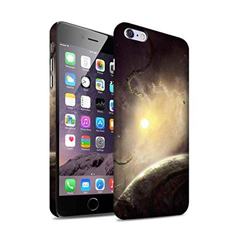 Offiziell Chris Cold Hülle / Matte Snap-On Case für Apple iPhone 6S+/Plus / Exoplanet Muster / Galaktische Welt Kollektion Entfernten Stern