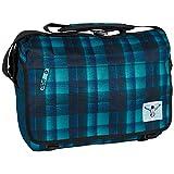 Chiemsee Unisex-Erwachsene Umhängetasche Shoulderbag Large, Checky Chan Blue, 39 x 12 x 29.5 cm, 13 Liter