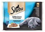 Sheba Bolsitas para Gatos, Pescados en Salsa - 340 gr
