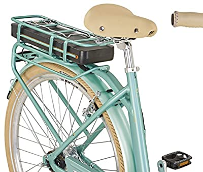 "Prophete E-Bike, 28"", Flair e, Vorderradmotor, 36V, 250W, max. 38Nm, 7-Gang Nabenschaltung , SAMSUNG Lithium-Ionen 36V, 10,4Ah (374Wh), Rücktrittbremse, Alu-Urban-Premium-Rahmen, integr. Gepäckträger"