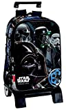 Montichelvo Star Wars Rogue One Carro Mochila Infantil, 41 cm, Negro