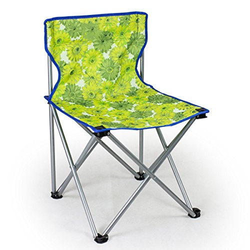 LDFN Tragbare Klappstuhl Multifunktionale Stuhl Angeln Freizeit Grill Stuhl Freizeit Zurück Stuhl,E-36*36*60cm/1.18*1.18*1.97ft