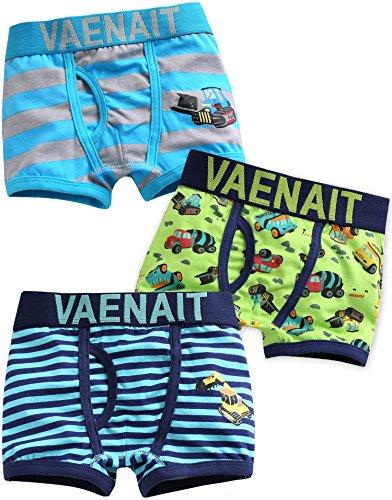 Vaenait baby Kleinkind Kinder Jungen Unterwasche 3-Pack Set Boxer Crane L - Baby-jungen-boxer-shorts