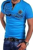 MT Styles 2in1 T-Shirt DEL MUNDO R-2611 [Blau, L]