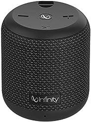 (Renewed) Infinity (JBL) Fuze 100 Deep Bass Portable Waterproof Wireless Speaker (Charcoal Black)