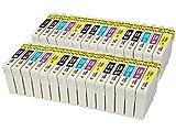 TONER EXPERTE® 30 Compatibles 16XL Cartouches d'encre pour Epson Workforce WF-2010W WF-2510WF WF-2520NF WF-2530WF WF-2630WF WF-2650DWF WF-2660DWF WF-2750DWF WF-2540W WF-2540WF | Grande Capacité