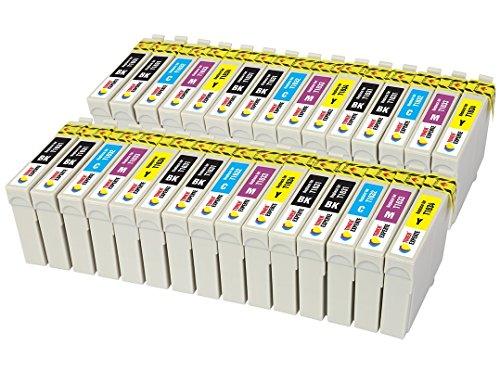 TONER EXPERTE Sostituzione per Epson 16 16XL T1636 30 Cartucce d'inchiostro compatibili con Epson Workforce WF-2010W WF-2510WF WF-2520NF WF-2530WF WF-2630WF WF-2650DWFWF-2540WF | Alta Capacità