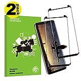 KUTUKU Galaxy S9 Plus Film Protection Ecran Verre Trempé, [2 Pièces] [HD Clair] [Dureté 9H] [Anti Rayures] [Anti-Fingerprint]...