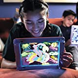 STAR WORK Glow Pad - Portable Hi-Tech Drawing Board for Kids Toy Tablet-Size