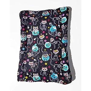 Katzenmatte Katzenbettchen – Dead Kitty – mit Katzenminze/Baldrian