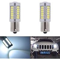 Paquetes de bombillas de repuesto LED blancas de 900lúmenes y 8000K, muy brillantes, para las luces traseras, de freno, de marcha atrás, intermitentes, luces laterales de marcador, traseras, de parada, de seguridad, de 12V 3,6W, de KATUR 115715563033 SMD