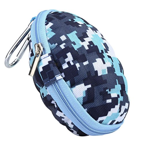 Transer® Style Camouflage Oval Case for Fidget Hand Spinner- Gift forocus ADHD Autism Finger Toy Bag Box Carry Packet (D)