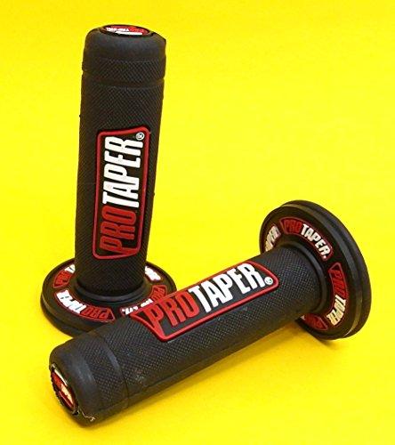 PRO TAPER Poignées de guidon ROUGE Ø 22 mm MX Honda…