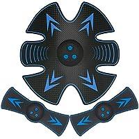 XDXDO Ccsme estimulador Muscular Recargable AB Toner Belt Trainer actualizado estómago tonificación Fitness Equipo de Entrenamiento Equipo de Entrenamiento