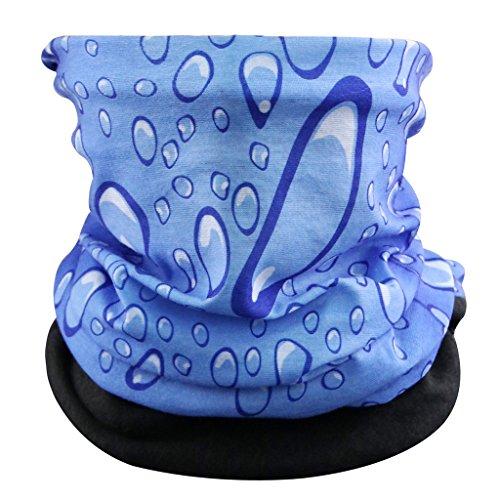 Eizur Unisex Copricapo Multifunzione Fascia Bandana Sciarpa Magica Fazzoletto da collo Maschera di Protezione Colorate (Halloween Scrunchie)