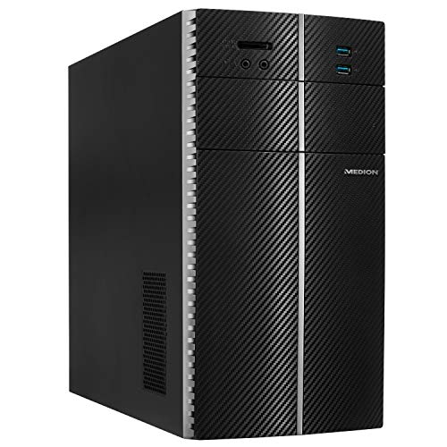 MEDION E40008 Desktop PC (Intel Pentium Silver J5005, 8GB DDR4 RAM, 1TB HDD, Intel UHD Grafik, Win 10 Home)