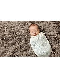 Recién saco fotografía foto Prop abrigo bebé