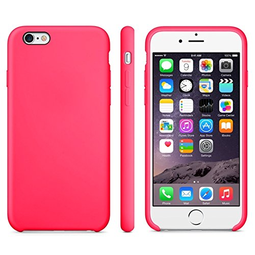 GHC Cases & Covers, Anti-Rutsch-mattierter TPU-Koffer für iPhone 6 Plus & 6S Plus ( Color : Green ) Magenta